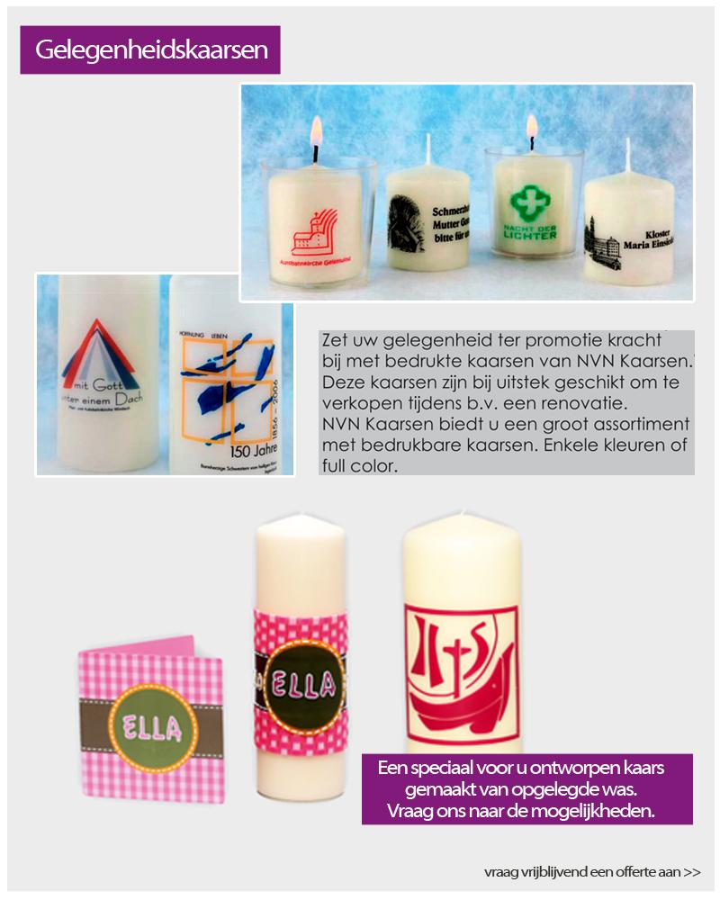 gelegenheidskaarsen