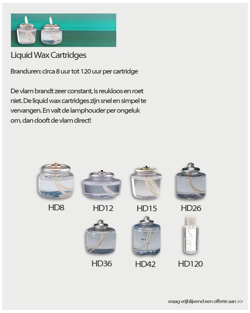 Kaarsen Luiquid Wax Cartridges